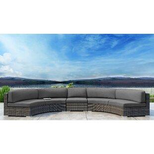 Gilleland 3 Piece Sectional Set with Sunbrella Cushion