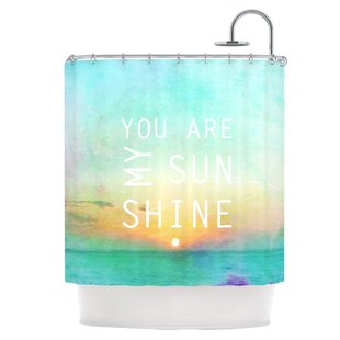 You Are My Sunshine Single Shower Curtain