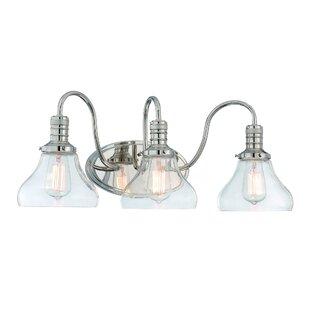 Breakwater Bay Wall Street 3-Light Vanity Light