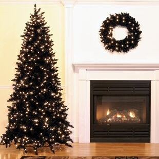 7 Foot Black Christmas Trees You Ll Love Wayfair