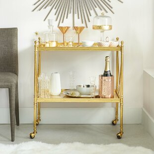 Willa Arlo Interiors Carcassonne Bar Cart