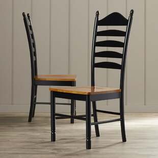 International Concepts Madison Park Ladderback Solid Wood Dining Chair (Set of 2)