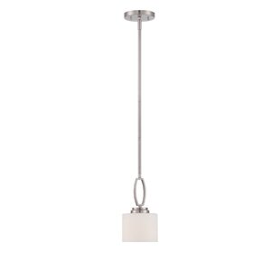 Latitude Run Bergen 1-Light Drum Pendant