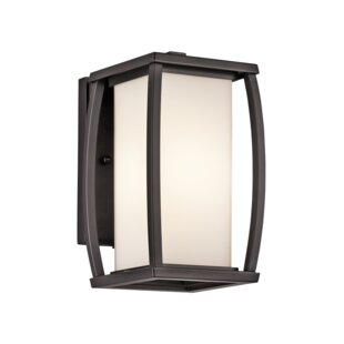 Online Reviews Roumfort 1-Light Outdoor Sconce By Winston Porter