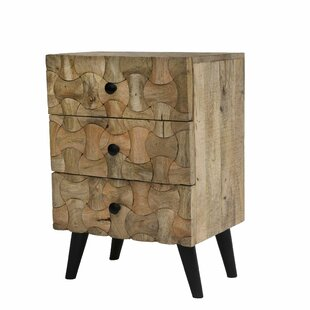 Union Rustic Brownton End Table with Storage