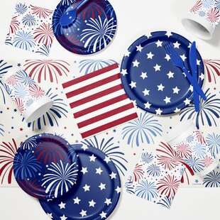 Patriotic Tableware Set