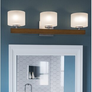 Bouie 3-Light Vanity Light By Wrought Studio