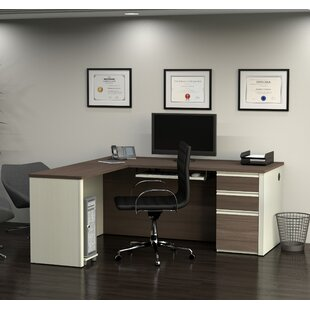Kenworthy Reversible L-Shaped Executive Desk by Ebern Designs