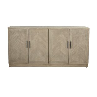 Westford Modern Wood 4-Door Sideboard Union Rustic