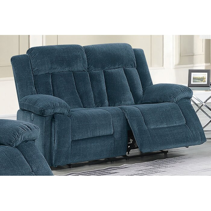Astonishing Lomba Reclining Loveseat Pabps2019 Chair Design Images Pabps2019Com