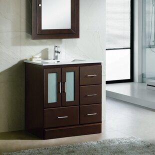 Rethman Modern 30 Single Bathroom Vanity Set by Latitude Run