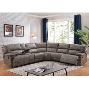 Donovan Reversible Reclining Sectional  sc 1 st  Wayfair & Reclining Sectionals Youu0027ll Love | Wayfair islam-shia.org