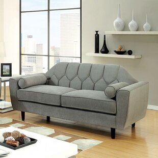Kristen Contemporary Loveseat by Corrigan Studio