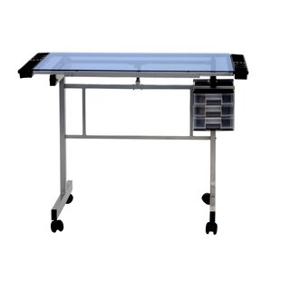 Offex Glass Drafting Table
