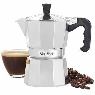 Italian Espresso 3-Cup Coffee & Espresso Maker