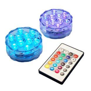 Symple Stuff Battery Operated LED Strobe Lights (Set of 2)