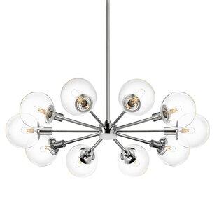 Corbett Lighting Nexus 16 Light Led Sputnik Modern Linear Chandelier Guaranteed