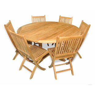 Aruba 7 Piece Teak Dining Set by Regal Teak