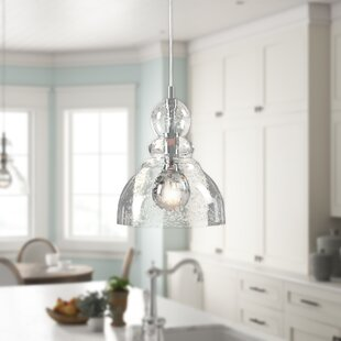 Wyckhoff 1-Light Bell Pendant & Over Table Kitchen Lighting | Wayfair
