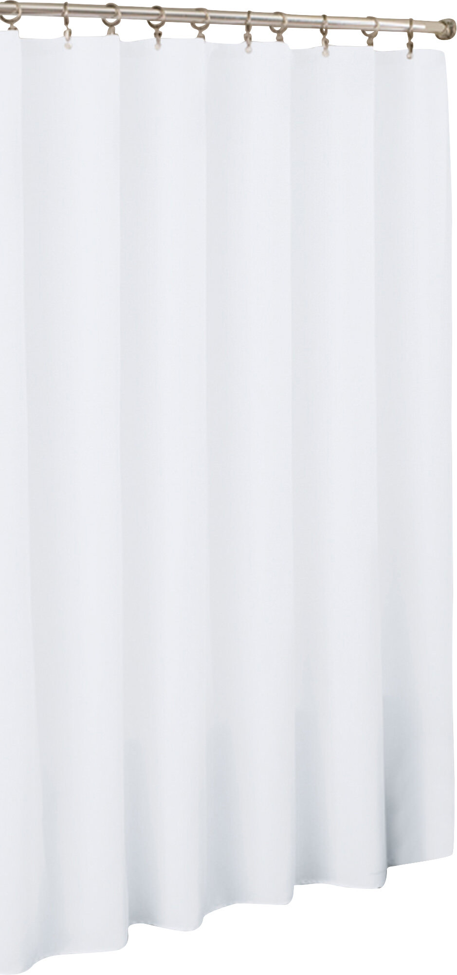 Symple Stuff Vinyl Mildew Resistant Single Shower Curtain Liner Reviews Wayfair