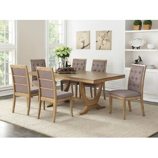 Keithley 7 Piece Dining Set Ophelia & Co.