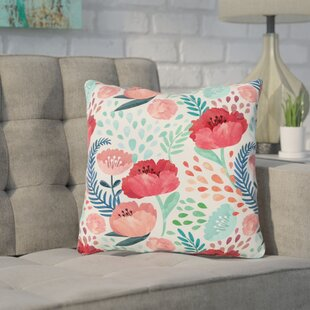 Erato Outdoor Throw Pillow