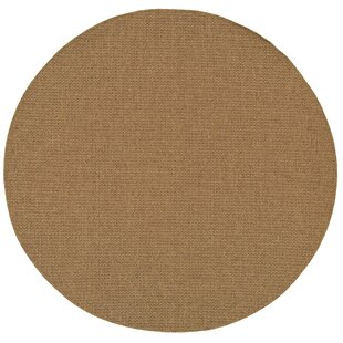 Nathalia Tan Indoor/Outdoor Area Rug by Beachcrest Home