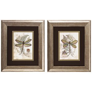Framed Wall Art Set Of 2 2 piece wall art you'll love | wayfair