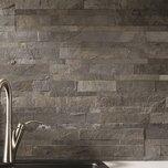 "6"" x 24"" Natural Stone Peel & Stick Mosaic Tile"