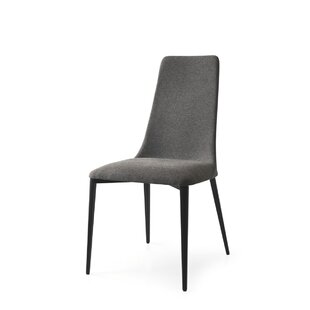 Calligaris Etoile Genuine Leather Upholstered Dining Chair
