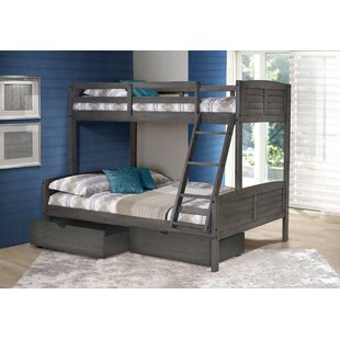 Find for Bodrum Twin Over Full Bunk Bed with Dual Storage Drawers by Harriet Bee Reviews (2019) & Buyer's Guide