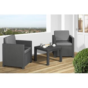 Victoria 2 Seater Conversation Set By Keter