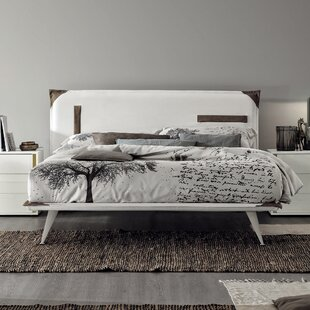 YumanMod Tasca Upholstered Panel Bed