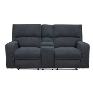 Ebern Designs Stephan Reclining Loveseat