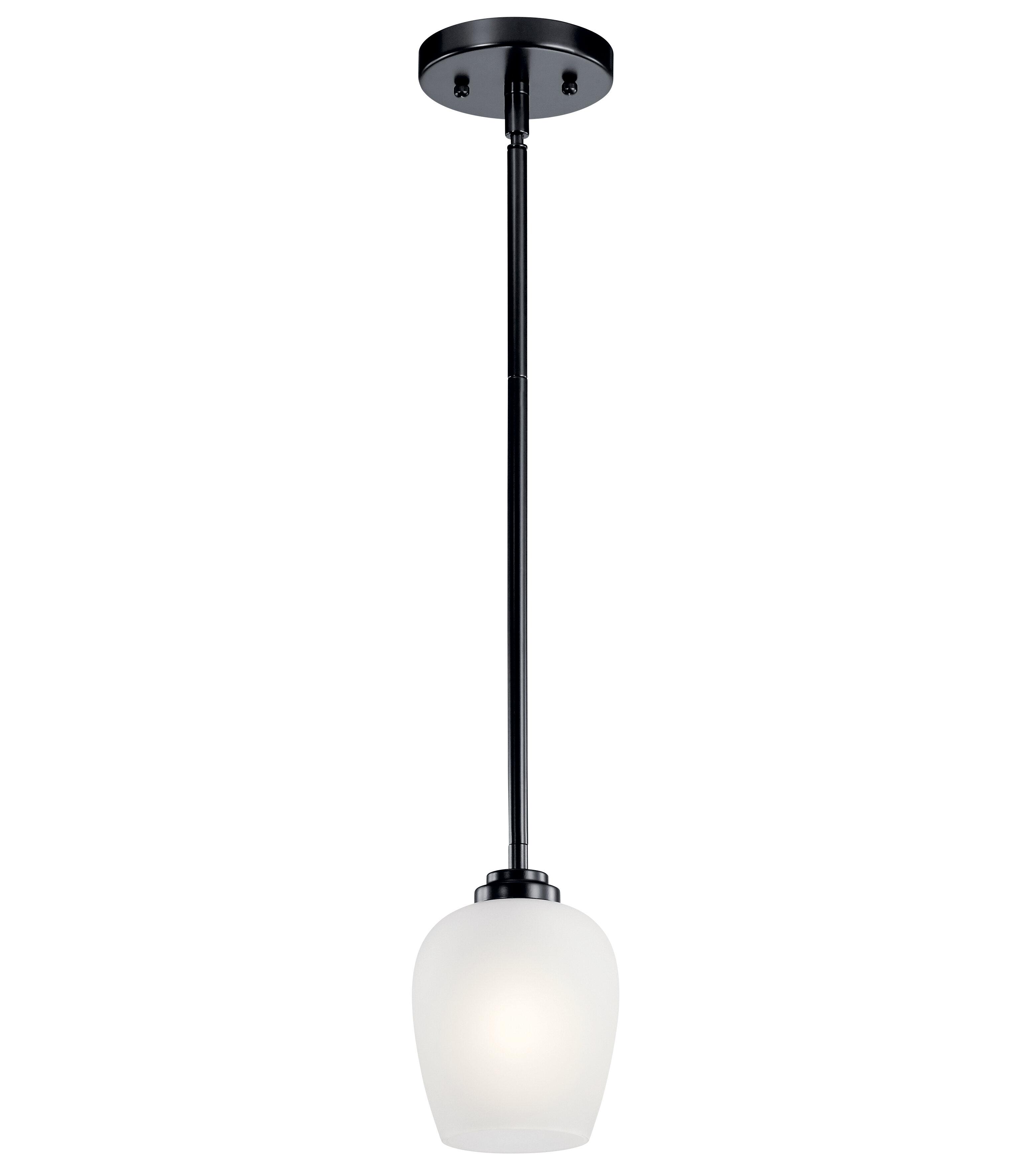 Charlton Home Ramblewood 1 Light Single Bell Pendant Wayfair