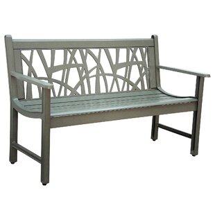 Mississippi Cast Aluminum Garden Bench