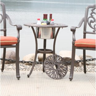Vick Aluminum Side Table