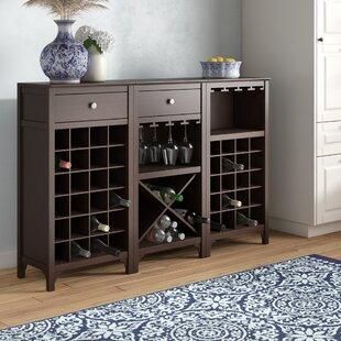 Alcott Hill Ancona 44 Bottle Wine Cabinet