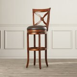 Brashears Counter & Bar & Extra Tall Swivel Stool by Darby Home Co