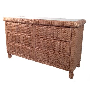 Miramar 6 Drawer Double Dresser