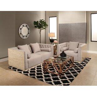 Chauntel 2 Piece Living Room Set by Willa Arlo Interiors