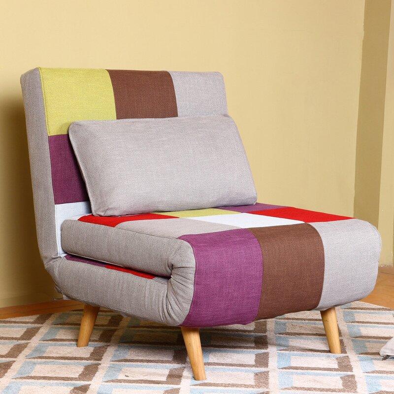 Decicco 1 Seater Futon Chair