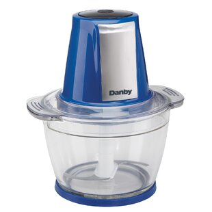 4-Cup Glass Bowl 200 Watt Food Chopper