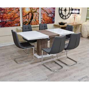 Bardstown Extendable Dining Set With 6 Chairs By Ebern Designs