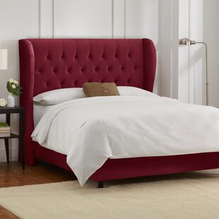 Sainte-Chappelle Upholstered Panel Bed by Skyline Furniture