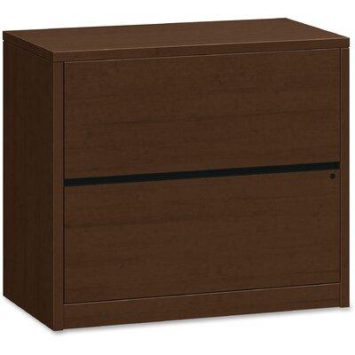 10500 Series 2 Drawer Lateral Filing Cabinet HON Finish Mocha