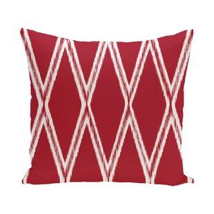 Martin Geometric Print Outdoor Pillow