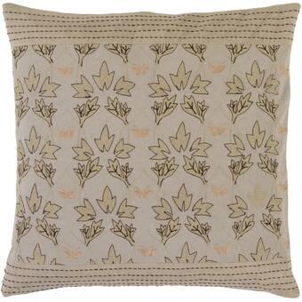 Bungalow Rose Barker Ridge Floral Throw Pillow Wayfair