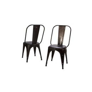 Amara Metal Slat Back Side Chair (Set of 4) by Woodhaven Hill SKU:CA246921 Price Compare