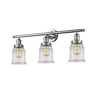 Laurel Foundry Modern Farmhouse Greeley 3-Light Vanity Light
